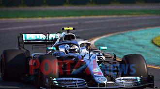 Driver Mercedes Valtteri Bottas Memenangi Seri pembuka Formula 1 2019