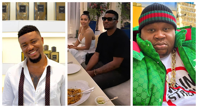 We know your story for and we know about your wives- Kelvin Brother continues to drag cubana chiefpriest as he shared photos of him and maria together