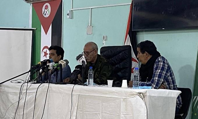 """الرئيس إبراهيم غالي  : """" الحرب في الصحراء الغربية متواصلة حتى تزول أسبابها"""""""