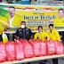 Partai Golkar Kota Medan Berbagi Nasi Berkah HUT ke 57 Kepada Pengguna Jalan