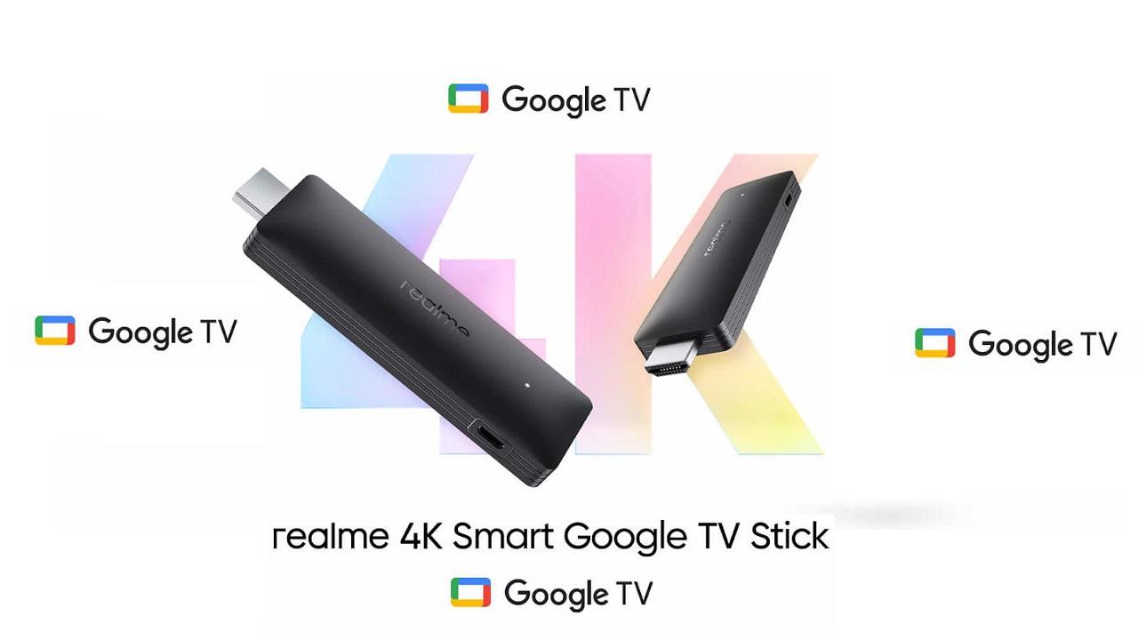Realme 4K Smart Google TV Stick Launch Date
