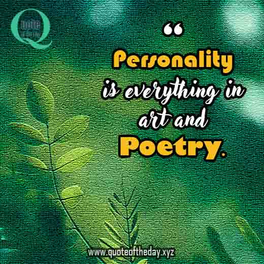 Famous poetry quotes