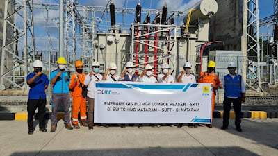 Perkuat Sistem Kelistrikan di Lombok, PLN Operasikan Tiga Gardu Induk dan Dua sistem Transmisi