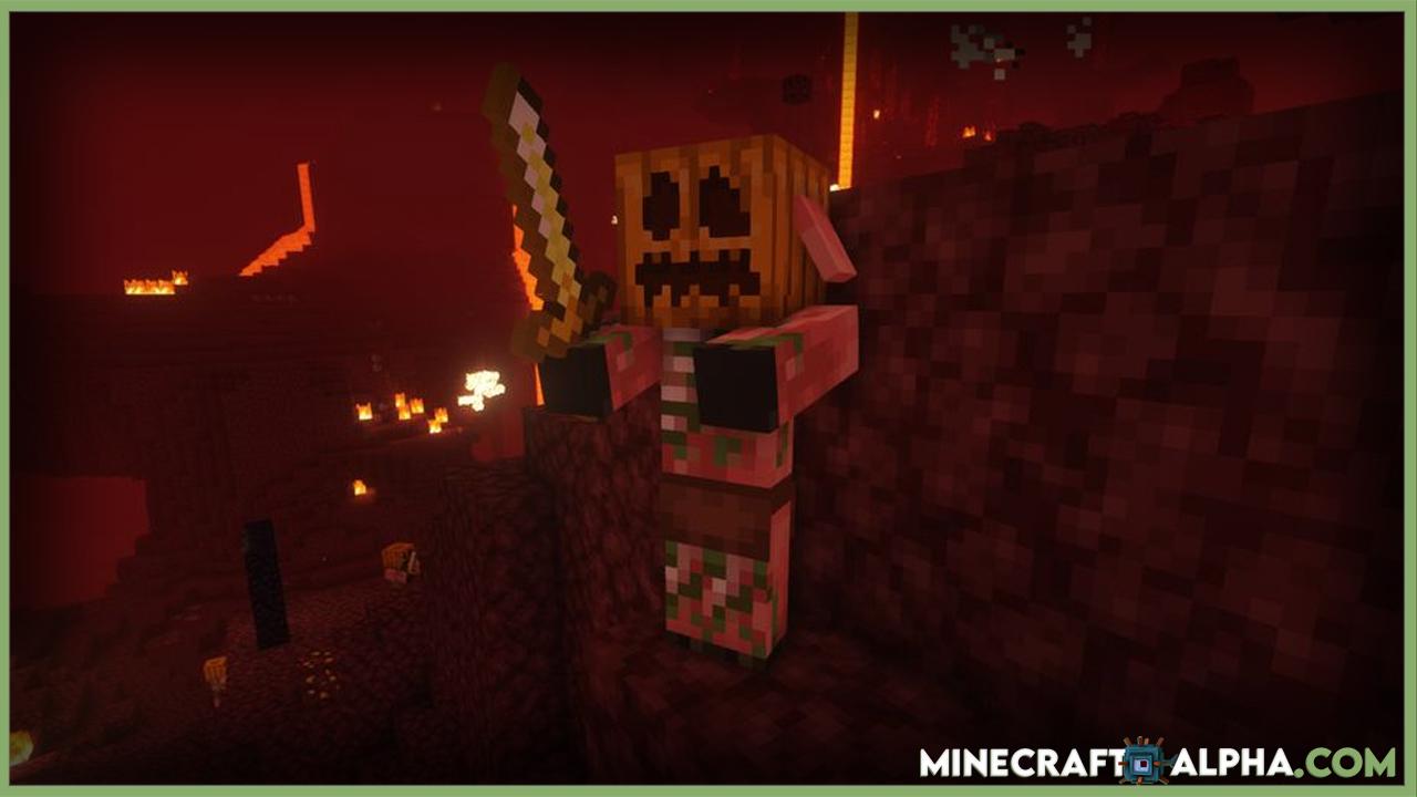 Spooky Halloween! Mod 1.16.5 Improve the Undead