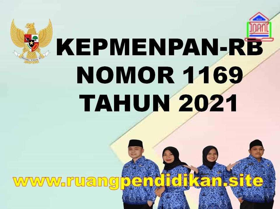 KepmenPAN-RB Nomor 1169 Tahun 2021