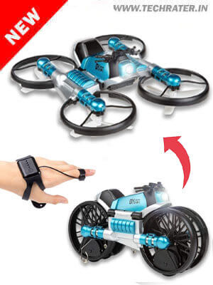 2-in-1 Foldable Drone with Wifi & Camera