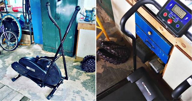 Crosstrainer & treadmill