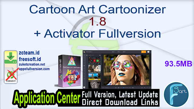 Cartoon Art Cartoonizer 1.8 + Activator Fullversion