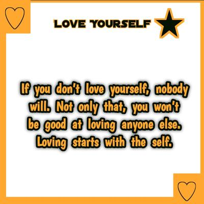 Latest Love Yourself Quotes {Best + Positive}   Self love quotes