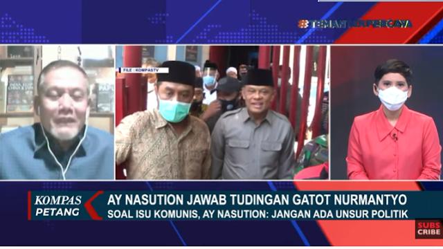 Soal Isu Komunis di Tubuh TNI, AY Nasution: Boleh untuk Kita Waspada, tapi Jangan jadi Konsumsi Publik