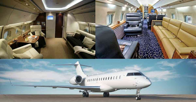 Most Luxurious Private Planes In The World - Challenger 600 - Moniedism