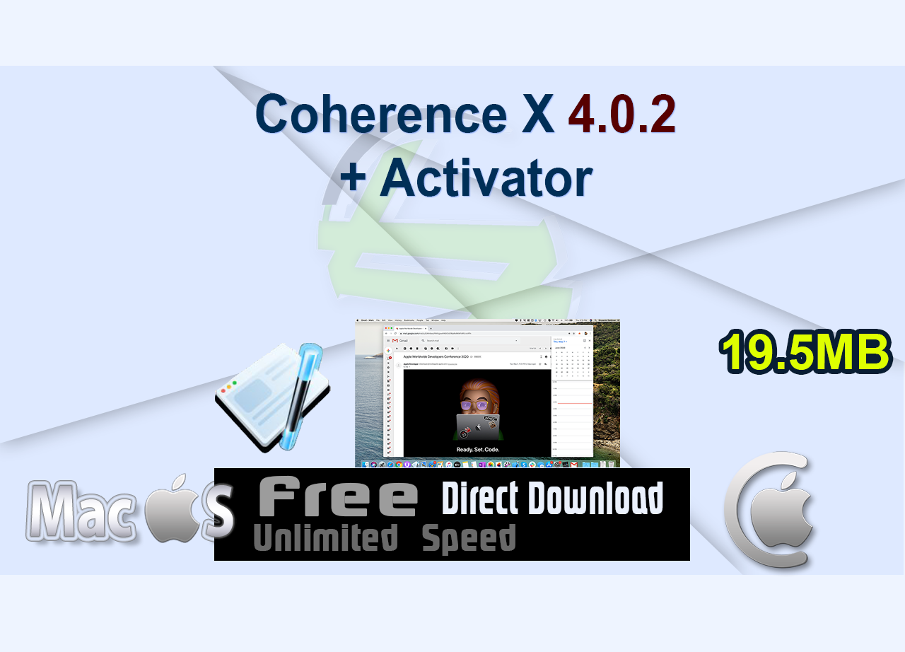 Coherence X 4.0.2 + Activator _CenterMac
