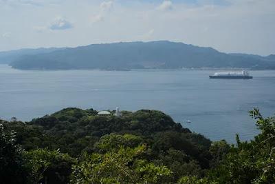 淡路島方面の展望