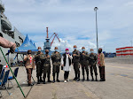 Kapal Perang jadi Lokasi Vaksin, Emma Yohana Apresiasi Danlantamal