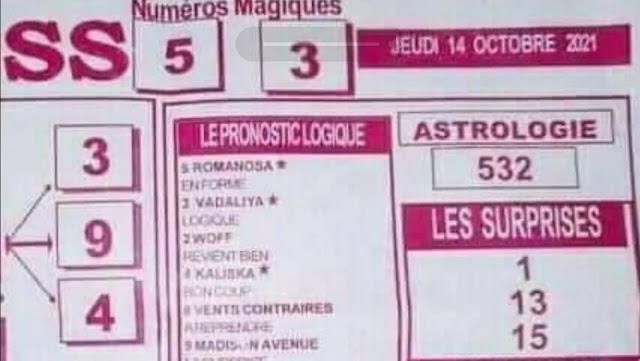 Pronostics quinté pmu jeudi Paris-Turf TV-100 % 14/10/2021
