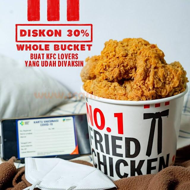 KFC Promo Whole Bucket Diskon hingga 30%