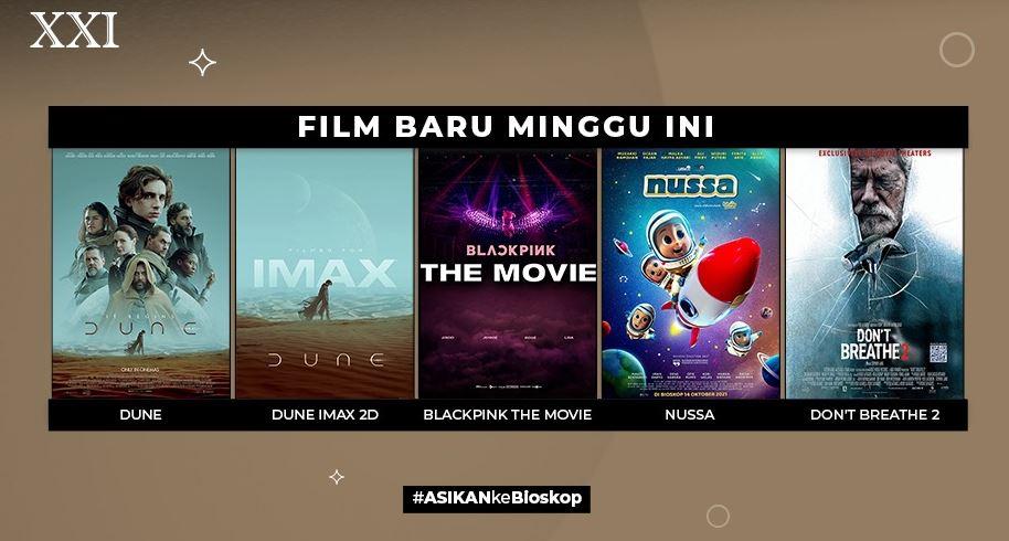 Sudah Dibuka, Berikut Film Bioskop yang Sedang Tayang