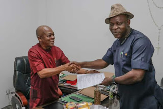 John Okiyi Hands Over As Abia Information Commissioner