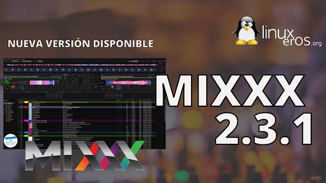 Mixxx 2.3.1 con nuevos controladores y mejoras en HiDPI