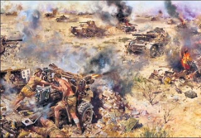 """""""Battle of Knightsbridge 6th June 1942"""" worldwartwo.filminspector.com"""