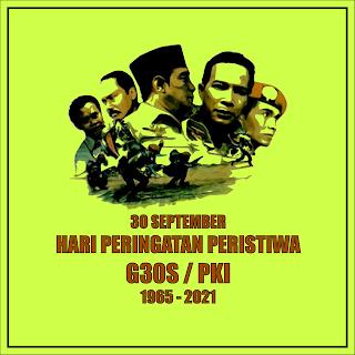 gambar poster peringatan peristiwa g30s pki 2021 - kanalmu
