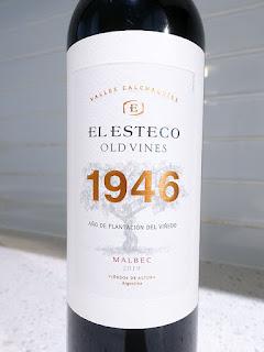 El Esteco 1946 Old Vines Malbec 2019 (90 pts)