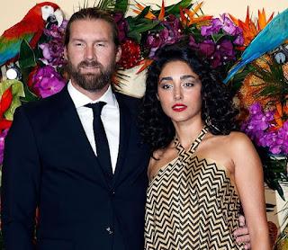 Christos Dorje Walker with his former wife Golshifteh Farahani