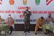 Launching BTPKLW Diwilayah Kodim 0505/Jakarta Timur