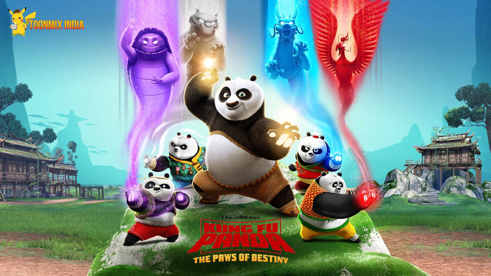 Kung Fu Panda: The Paws of Destiny Season 1 in Hindi download