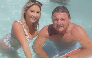 Picture of Ed Orgeron with his rumored girlfriend Bailie Lauderdale