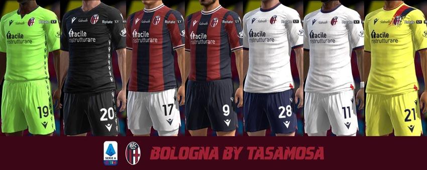 Bologna Kit 2021-2022 For PES 2013