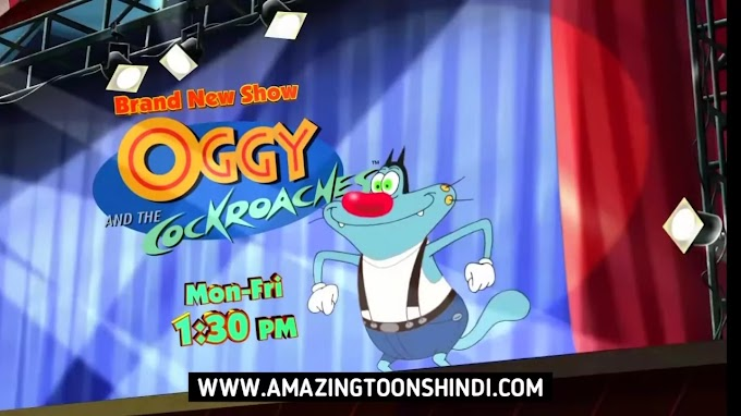 Oggy and the Cockroaches Hindi Episodes Download HD (Sony YAY)