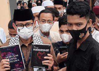 Sandiaga Uno Puji Karya Pemuda saat Berkunjung ke Aceh