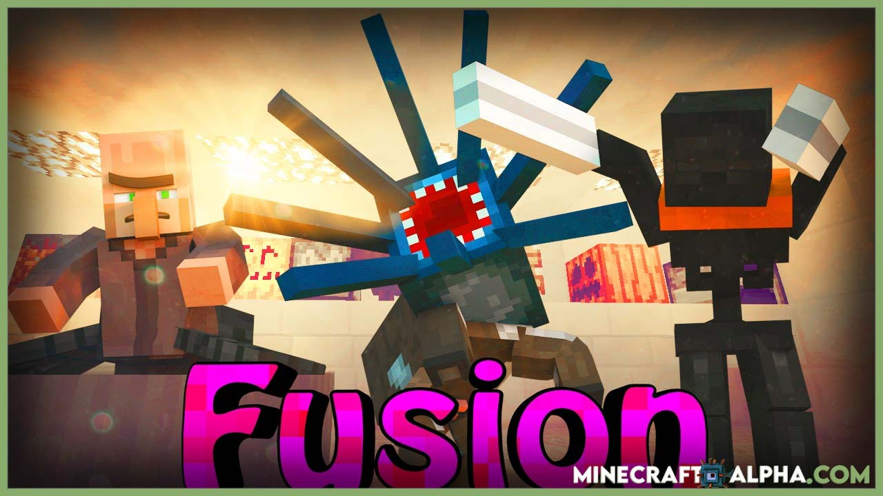Minecraft Fusion Mod 1.17.1 (Steel and Fusion Furnace)