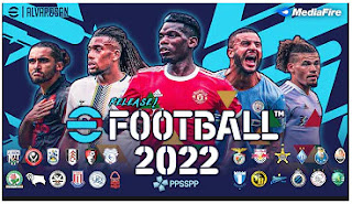 Download eFootball PES 2022 PPSSPP English Version New Kits UCL & EFL Championship Team