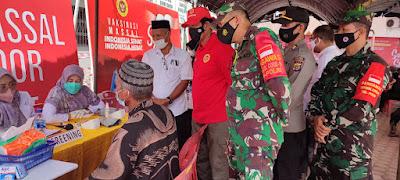 BlN Provinsi Aceh Menggelar Vaksinasi Massal Door To Door Bagi Pelajar Kerap Didampingi Dandim 0105/Abar