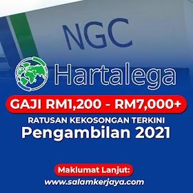 Pengambilan Ratusan Jawatan Kosong Terkini Di HARTALEGA NGC Sdn Bhd Dibuka ~ Mohon Sekarang!