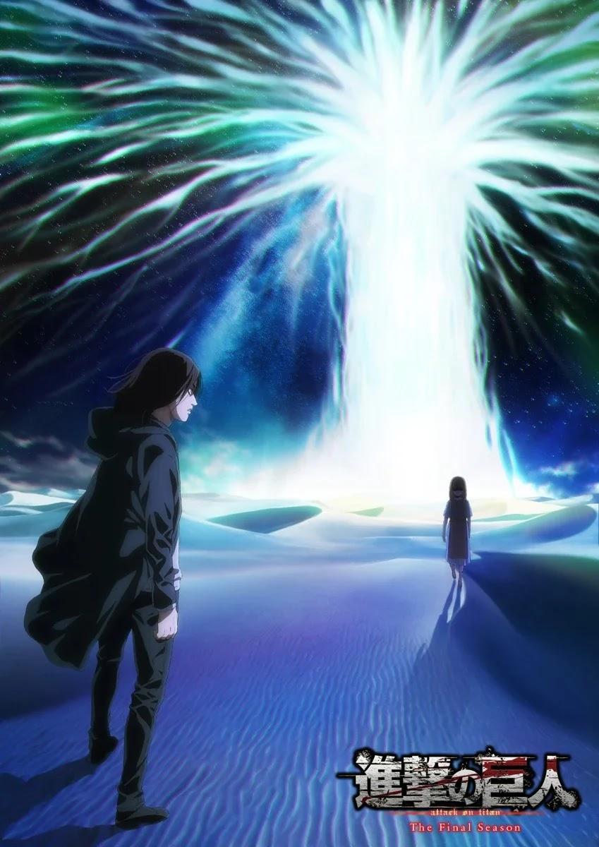 Revelado trailer da Segunda Parte de Shingeki no Kyojin: The Final Season