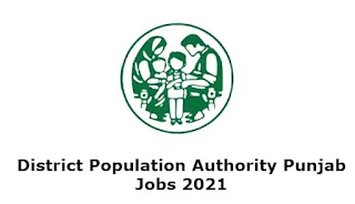 District Population Authority Punjab Jobs 2021 Advertisement