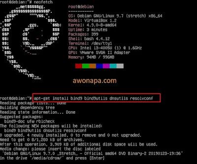 Install Paket DNS Server