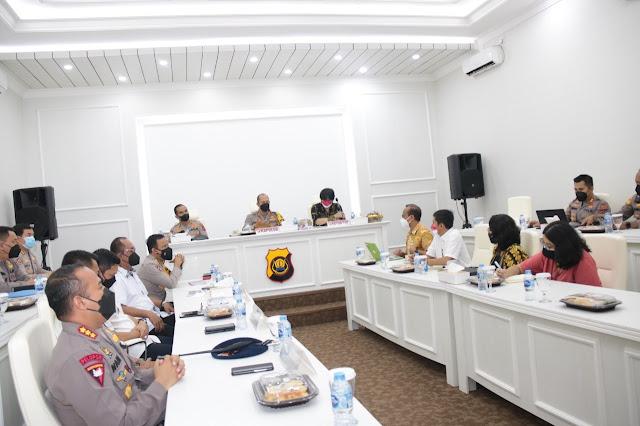 Kapolda Jambi Sambut Kunjungan Kerja Tim Kantor Staf Presiden (KSP) RI
