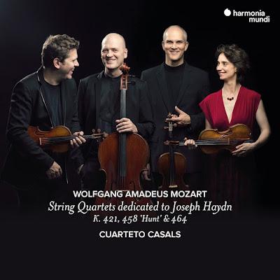 Mozart: String Quartets Dedicated to Joseph Haydn - K. 421, 458 Hunt & 464