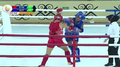 3 Atlet Cabor Muaythai Sulut Lolos Semifinal PON