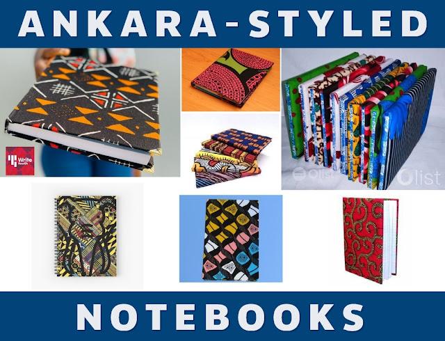 Ankara Notebooks Ankara Book Cover Ankara Book Prints