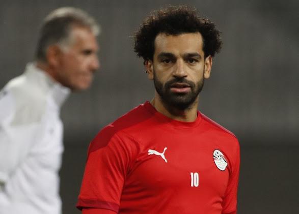 محمد صلاح يصل للمباراة رقم 70 مع مصر