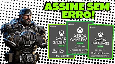 Assinar o game pass ultimate com gift card pelo celular