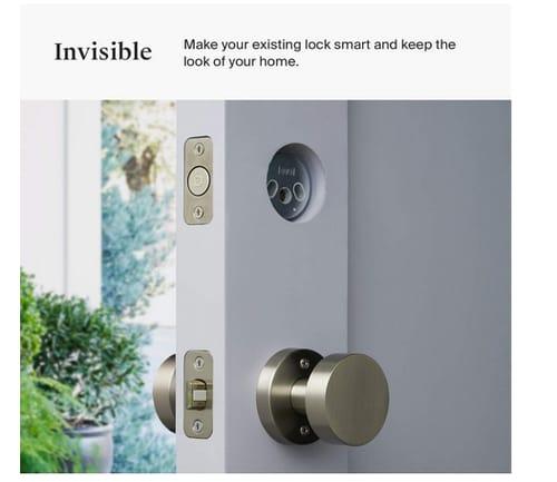 Level C-D11U Bolt Bluetooth Deadbolt Invisible Smart Lock