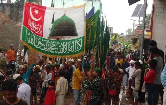 धूमधाम से निकाला गया जुलूस-ए-मुहम्मदी