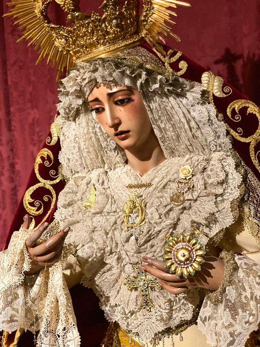 Horario e Itinerario Rosario Matinal Virgen del Rosario (Hdad Milagrosa). Sevilla 17 de Octubre del 2021