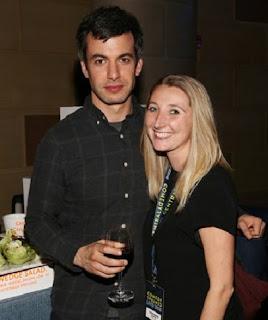 Sarah Ziolkowska's ex-hubby Nathan Fielder with his friend